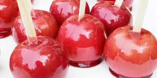 apple food. candy apples apple food