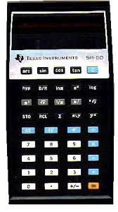 years of calculator history the first scientific calculator ti manufactured a low power cmos chip and an lcd handsome and compact the slimline ti 50 slide rule performed 60 math