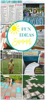 summer isn t over yet and right about now your kids might be getting antsy with all of their extra free time try some of these diy summer family activities