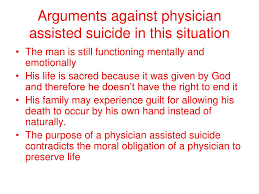 Physician Assisted Suicide Synthesis Essay