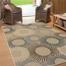 1833 5x8 orian rugs 1833 5x8 indoor outdoor circles ray of light throughout indoor outdoor