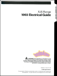 jaguar xj shop service manuals at com 93 xjs electrical guide by jaguar for 6 cylinder 4 0 coupe converitible wiring relay diagrams 93 s7293