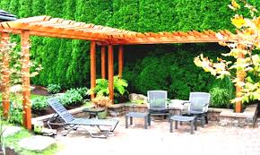 inexpensive patio ideas diy. Landscape Inexpensive Patio Ideas Diy Flooring Cabinets Landscaping Designs With Big Rocks And White Fences 2