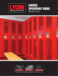 Locker Specifiers Guide