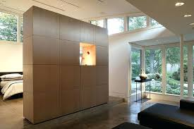 false wall ideas home and furniture gorgeous room divider wall in how to build a or partition false wall design ideas