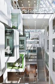 combined office interiors. Green One Shelley Street Office Interior Design By Clive Wilkinson Architects Minimalist Architecture Designs Combined Interiors