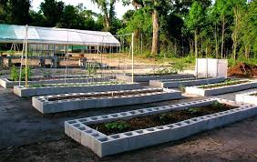 how to build a vegetable garden. How To Build A Raised Bed On Concrete Building Vegetable Garden Slope Cold Frame Over