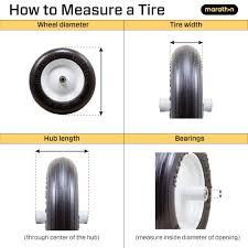 Wheelbarrow Tire Size Chart Wheelbarrows Sizing Guide