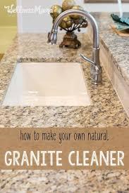 natural granite cleaner