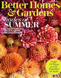 Small Picture Better Homes and Gardens Magazine Better Homes and Gardens