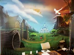 Scenery Wallpaper For Bedroom 17 Best Images About Kids On Pinterest Murals Red Dragon And