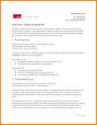 Accounting Cover Letter Samples Free 24 Cover Letter Sample For Resume Pdf Hostess Resume 19
