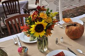 Fall Table Decorations With Mason Jars Fall Flower Centerpiece Ideas Beautiful Flowers For Gifts And 22