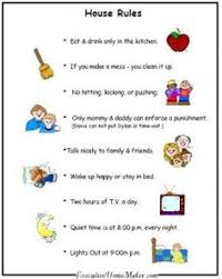 59 Best Kids House Rules Images Chores For Kids Kids