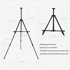 10 of 12 painting sketch easel artist drawing board display iron tripod stand folding wcv