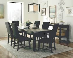 scott living davenport dark grey dining room set includes dining table and two chairs