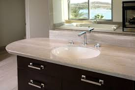 1 marble and granite bathroom countertops save money