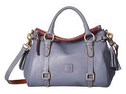Dooney And Bourke Color Chart Dooney Bourke Florentine Small Satchel Handbags Steel Blue