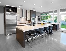 contemporary kitchens with dark cabinets. Frosted Glass Kitchen Cabinets Contemporary With Bar Stool Kitchens Dark