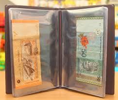 Photo Albulm Bank Note Album Money Album