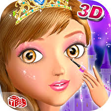amazon princess 3d salon free s game in realistic 3d makeup salon environment app for android
