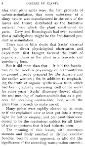 disease in plants by h marshall ward that plant acids were the first products of carbon assimilation that some substance of a slimy nature was manufactured in the cells of the leaves and