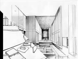 OfficeHome Interior Design Sketches Initial Interior Design