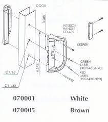 sliding patio door handles replacing