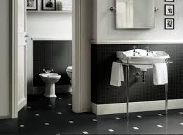Best 14 Bathroom With Black Tiles On Black And White Tile Bathroom