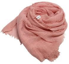 Light Pink Pashmina Light Pink Crinkle Pashmina Shawl