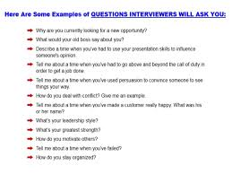 Retail Interview Questions Simple Sample Job Interview Questions And Answers