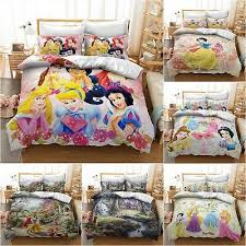 disney princess bedding set 2 3pcs snow