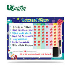Chore Chart Board Magnetic Weekly Daily Planner Flexible Dry Erase Board For Fridge Reusable Chore Chart Buy Kids Daily Reward Chore Chart Personalized Kids Chart