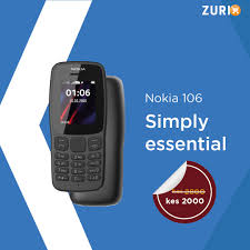 Zuricart - The Nokia 106 new model is a ...