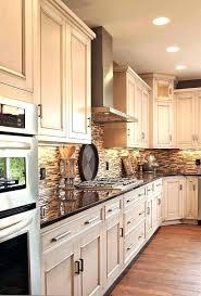 antique white kitchen ideas. Off White Kitchen With Granite Countertops Antique Ideas .