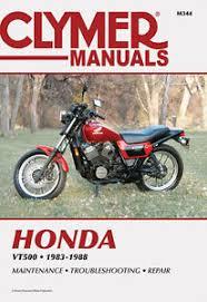 clymer repair manual for honda vt500ft ascot vt500c shadow image is loading clymer repair manual for honda vt500ft ascot vt500c