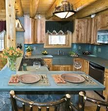 green slate countertops rustic kitchen design natural wood cabinets floors beams