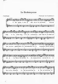 La Brabançonne Hymne National De La Belgique Belgische Volkslied