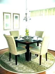 dining rug size dining room rug size rug size for dining table round rugs under dining