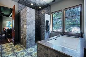 brilliant walk in shower without door with no or glass wall made from dark brick design photo nz picture tray image lip