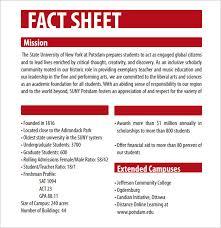 Fact Sheet Template Microsoft Word Fact Sheet Template Sample Get Sniffer