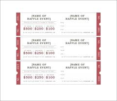 How To Make Tickets On Word Your Own Raffle Ticket Template Free