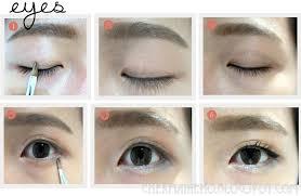 skin makeup with korean makeup tutorial with korean eye makeup tutorial my eye make up