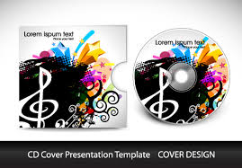 Cd Cover Presentation Vector Template Material 06 Free Download