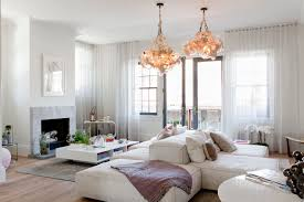 modern double sided sofa. Modren Sided Double Sided Sofa Living Room Contemporary With Bubble Chandelier Deck  French Inside Modern