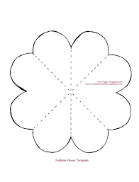 Paper Flower Petal Template Cardstock Flower Template Giant Rose Free Template And Tutorial