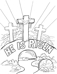 Small Picture Resurrection Coloring Pages Free At Free Coloring Pages For Easter