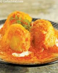 dum aloo there is a royal festive feeling even as you recall the texture