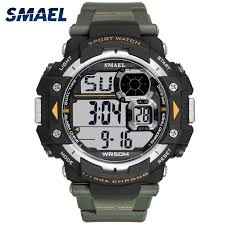 <b>Mens Digital Watches SMAEL</b> Brand LED Men Watch Sport Watches ...