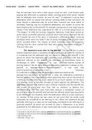 defamation law in  7 8